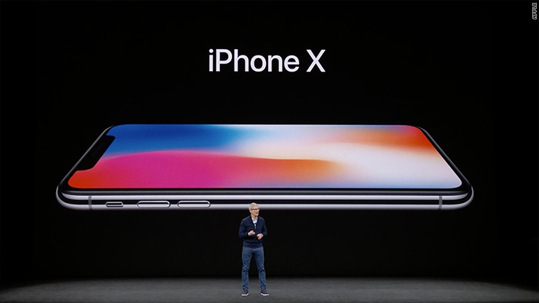 Apple iPhone X Unveil at September 2017 Apple Event